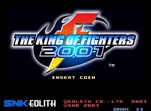 سلسلة king of fighter من بدايتها حتى 2004 للتحميل Kof2001title