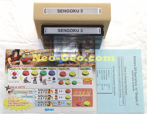 Sengoku 3 on this site is sans serials - http://www.neo-geo.com/snk