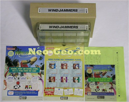 Windjammers : Supports / Versions / Différences / Prix etc ... WINJAMMERS