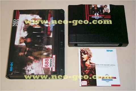 The King of Fighters 2002 home cart pictures!