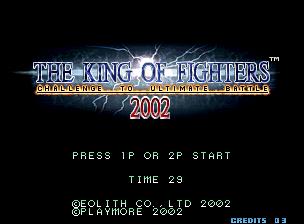 سلسلة king of fighter من بدايتها حتى 2004 للتحميل Kof2002a